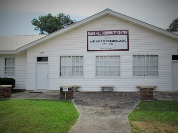 Mars Hill Community Center - Old school establised in 1917 and closed in 1961