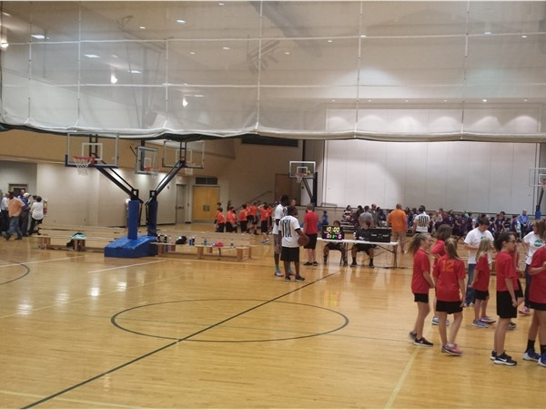 Upward Basketball at Temple Baptist Church