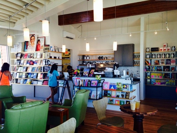 Cat Island Coffee house & book store.