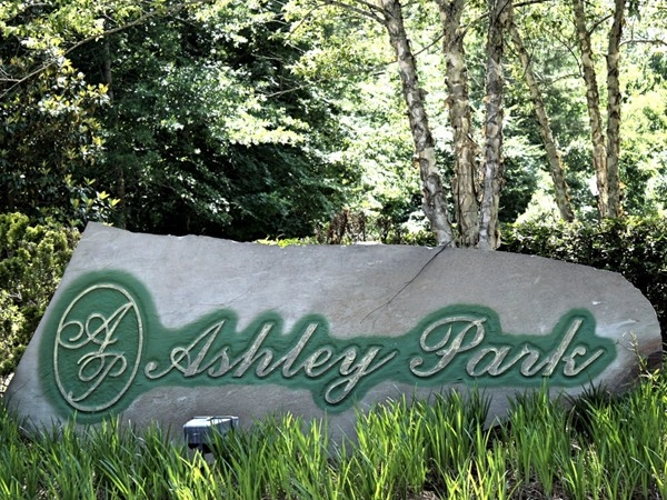Entrance to the Ashley Park section of North Brandon Estates