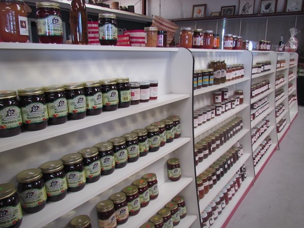 Find jams and jellies galore at the Brookway Market