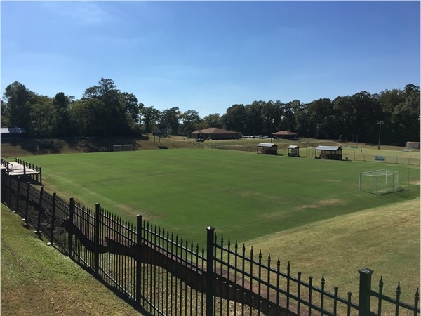 Mississippi College soccer fields. MC had a great soccer season this year