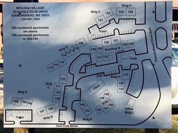 Molokai Village Complex map