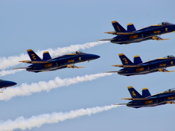 Blue Angels over Biloxi