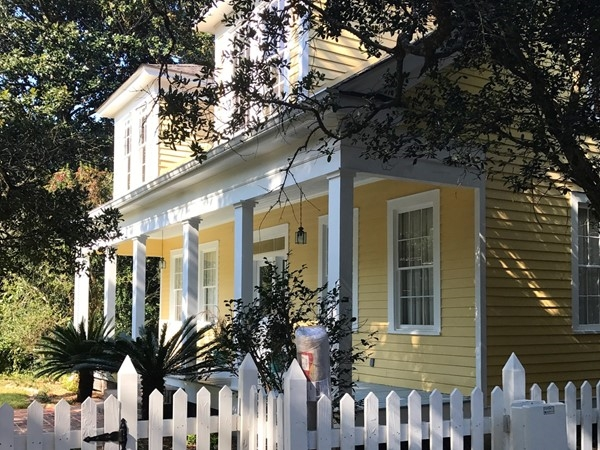 Charming 1900's home is one of many historic houses in Pass Christian
