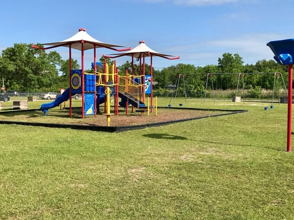 Pineville Elementary playground in Pass Christian