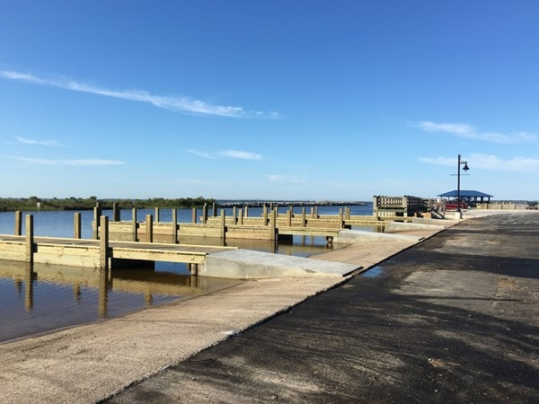 Jackson County just completed renovation of the boat launch in the Ocean Springs Harbor