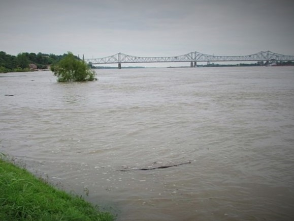 Mississippi River Bridge in Natchez