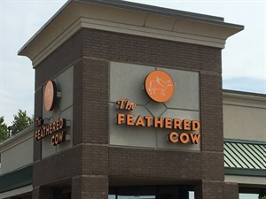 The Feathered Cow is one of the newest places to grab a bite to eat around the Rez