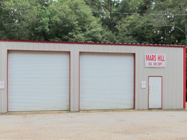 Mars Hill Volunteer Fire Dept. - not much left to the community with the name Mars Hill on it