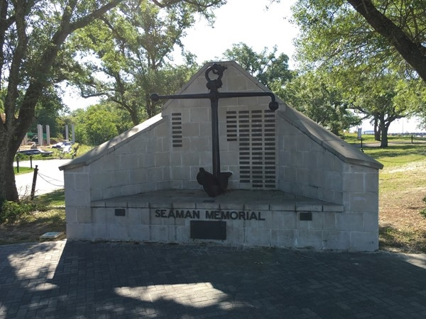Seaman's Memorial is dedicated to Mississippi Merchant Mariners who have served their country