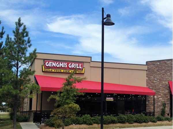 If you love stir fry, come build your own bowl at Genghis Grill at Market Street!