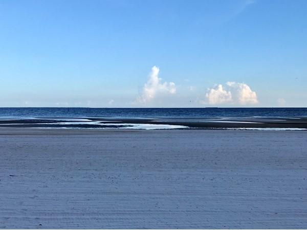 It's beautiful when the tide rolls out in Long Beach