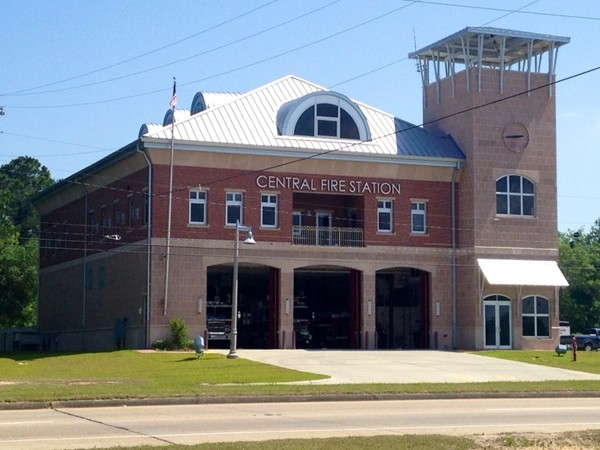 Waveland Central Fire Station