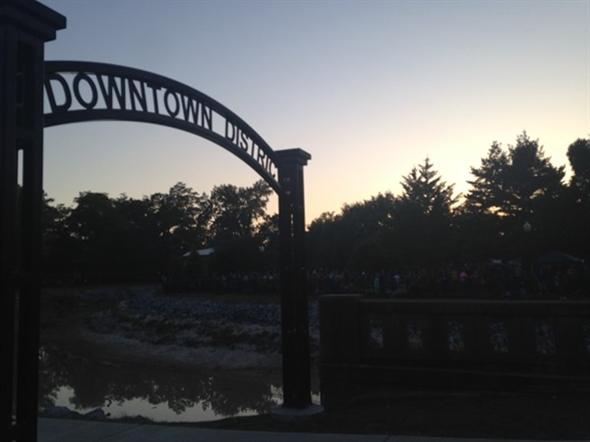 Downtown District, Town Square Park