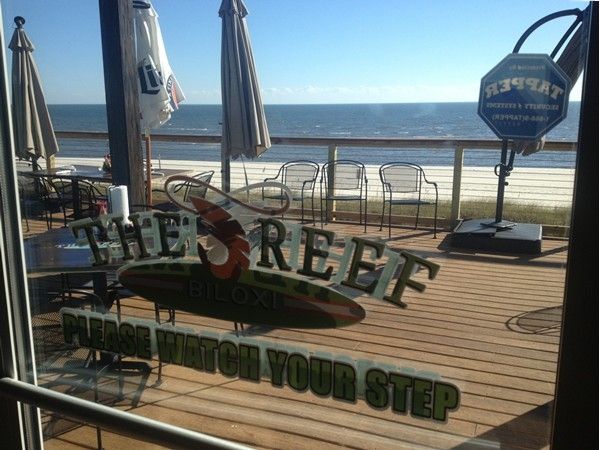Great setting and food. Recommended! The Reef in Biloxi