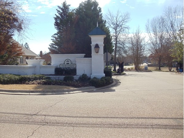 Northbay Subdivision gated entrance