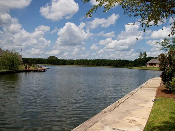 Enjoy a sunny day on Hatheway Lake's beautiful 30+ acre stocked fishing lake!