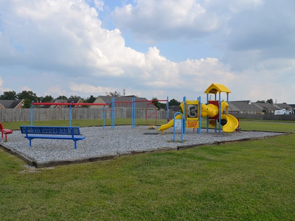 Lots of areas for the kids to play