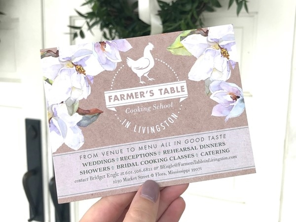 Grab your friends and come take a cooking class out at the Farmer's Table