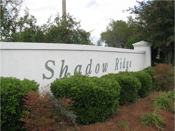 Shadow Ridge subdivision offers golf course living in Hattiesburg. Located just off HWY 98W