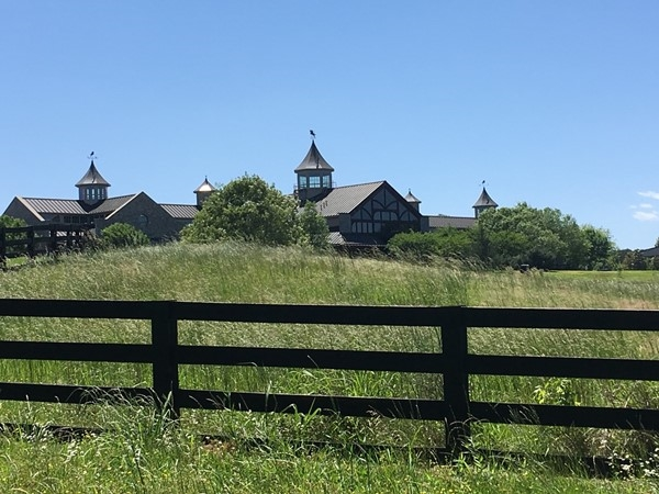 Cool view of Providence Hill Farms equestrian facility and event venue. Located north of Clinton
