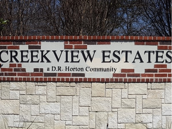 Welcome to Creekvew Estates