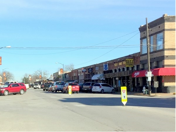 A thriving downtown Wylie