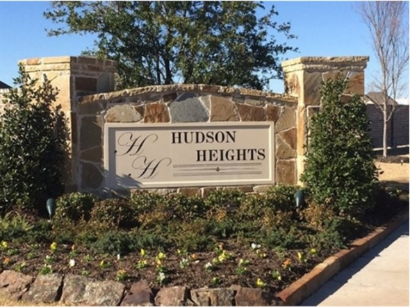 Hudson Heights entrance