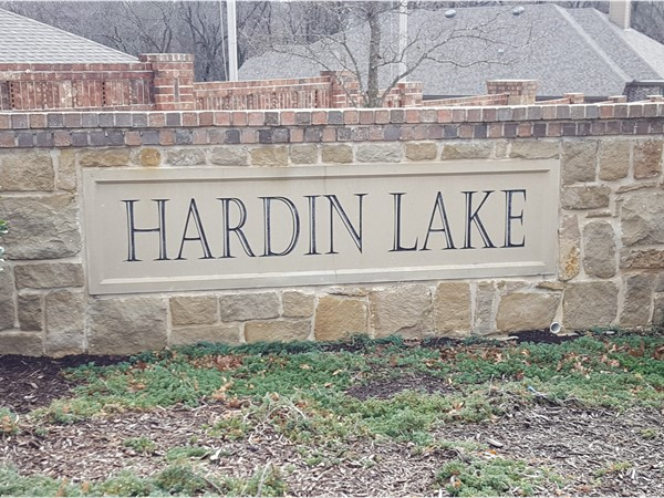 Welcome to Hardin Lake