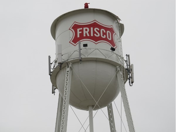 Original Frisco watertower