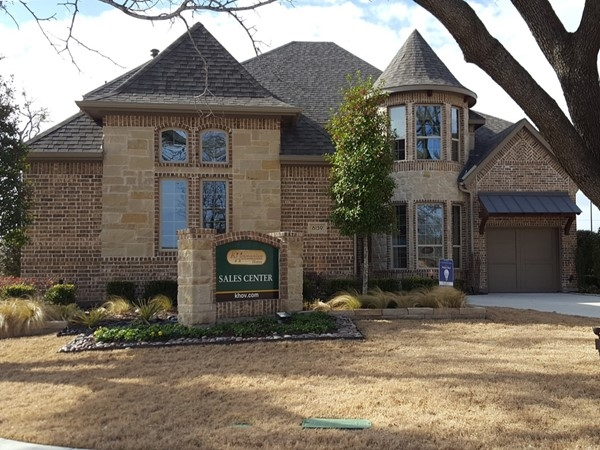 Model home at Liberty Crossing