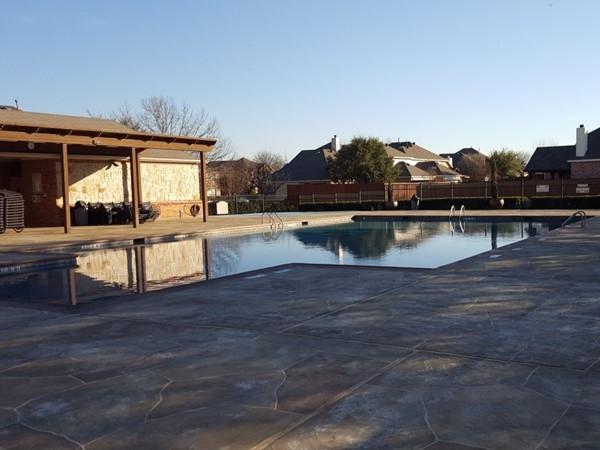 Commumity pool in Ridgeview Park