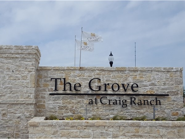 Welcome To The Grove At Craig Ranch