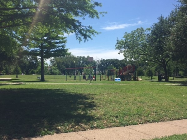 Cole Park in Dallas offers tennis courts, playgrounds, basketball courts, trails and more