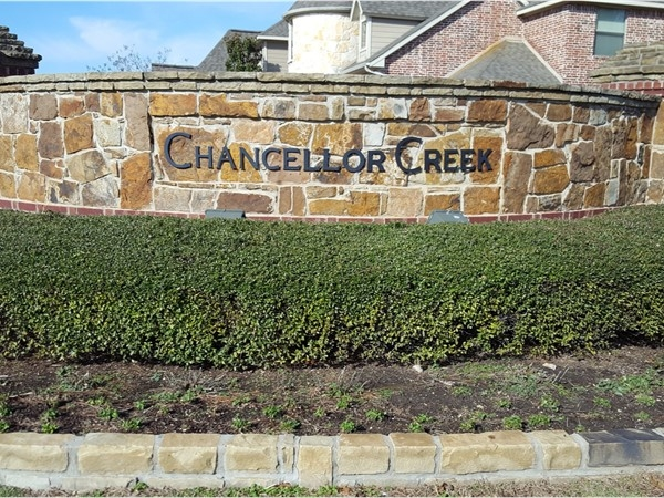 Welcome to Chancellor Creek