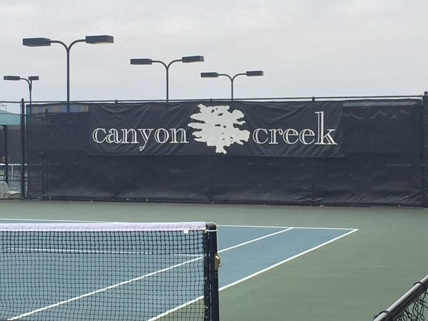 Canyon Creek Country Club tennis courts