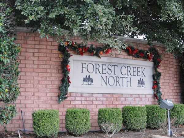 Entrance to Forest Creek North II