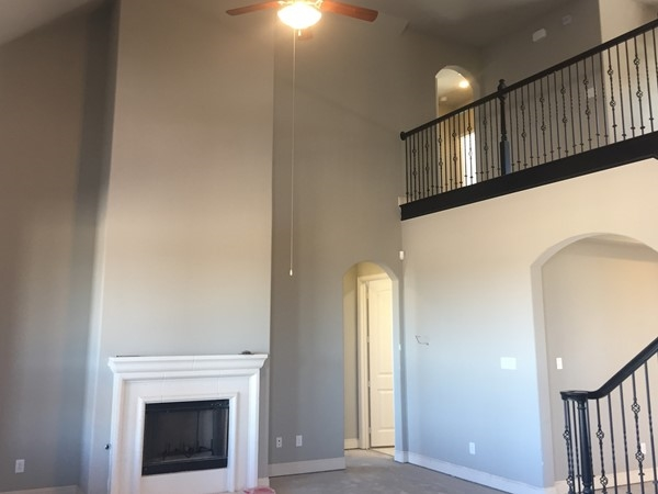 Model home for Oakdale Homes is being built