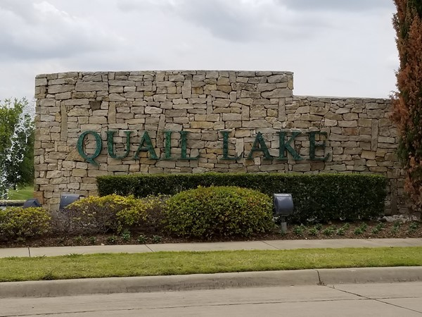 Welcome To Quail Lake