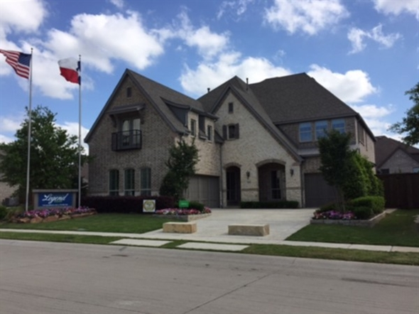 American Legend Homes in Allen