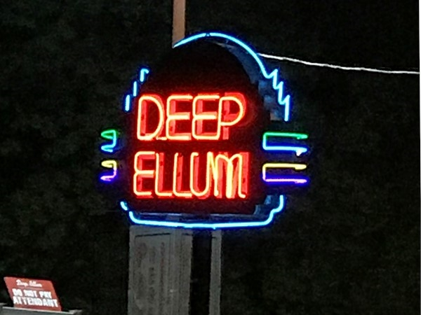 Deep Ellum is always changing. Go check it out