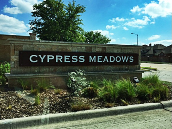 Entrance to Cypress Meadows
