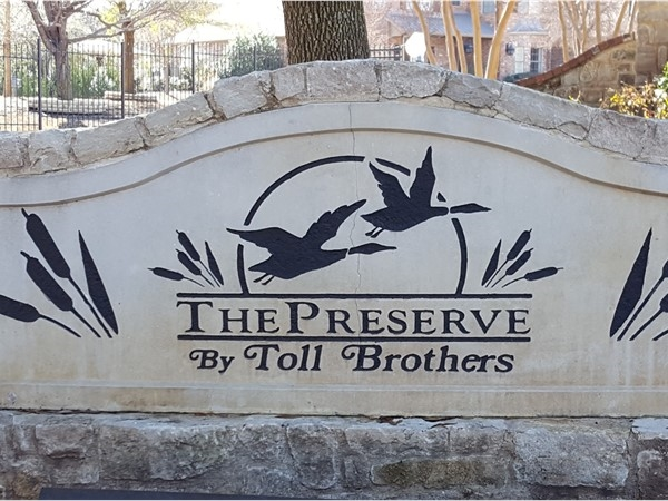 The Preserve, a gated community in Mallard Lakes