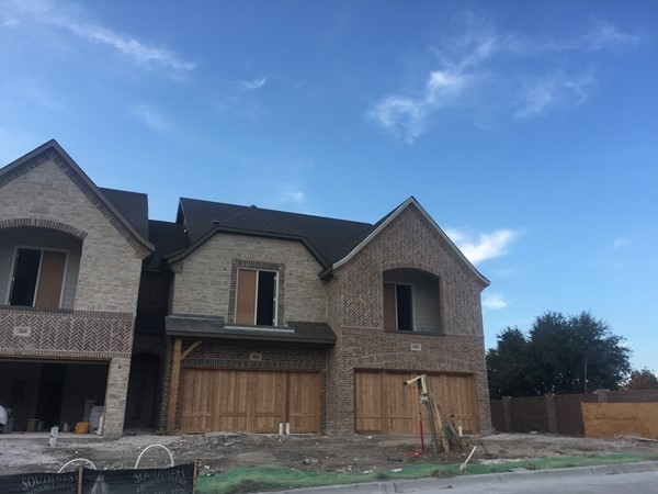New construction townhomes in Wylie