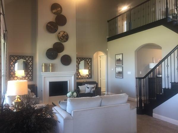 Oakdale Homes have soaring ceilings