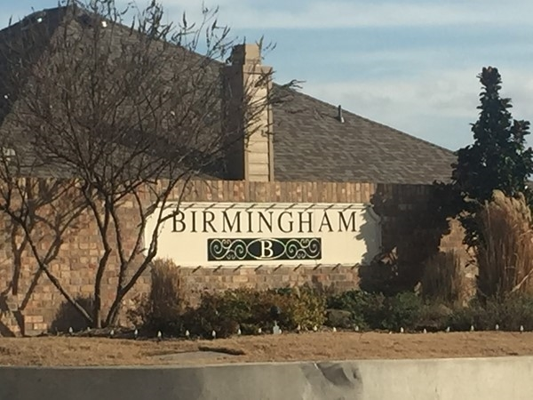Entrance to Birmingham Farms