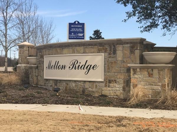 Melton Ridge entrance