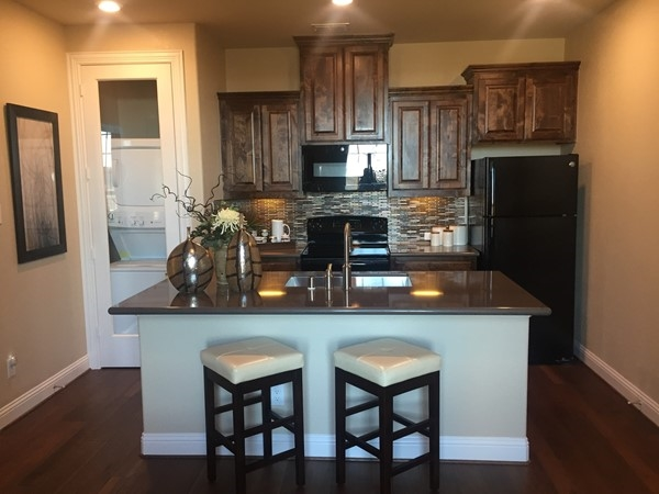 Lennar Homes second kitchen in the Multi-Generational home cuts no corners