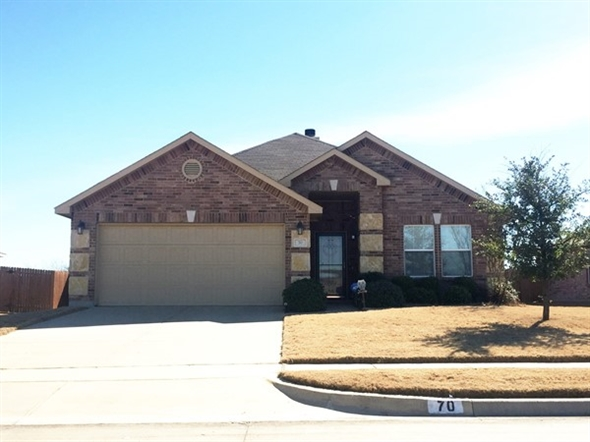 Affordable Homes In Fate Spring Meadow Subdivision